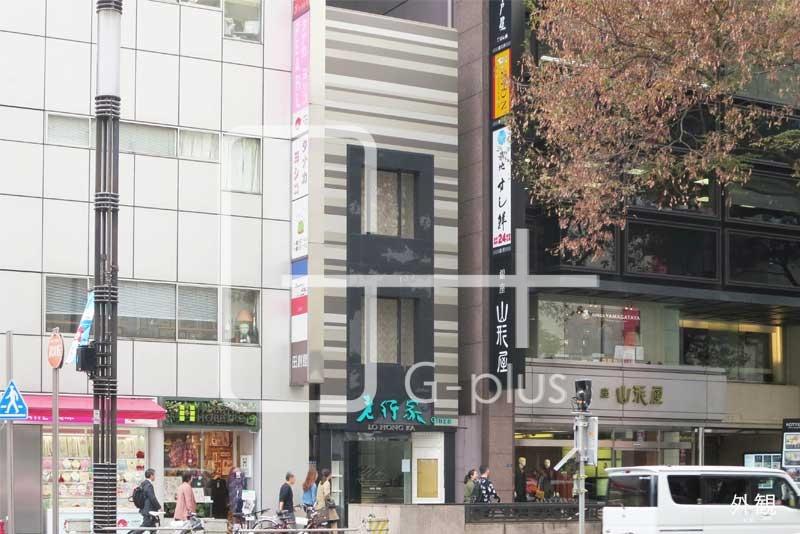 晴海通りの銀座5丁目一棟貸店舗のイメージ
