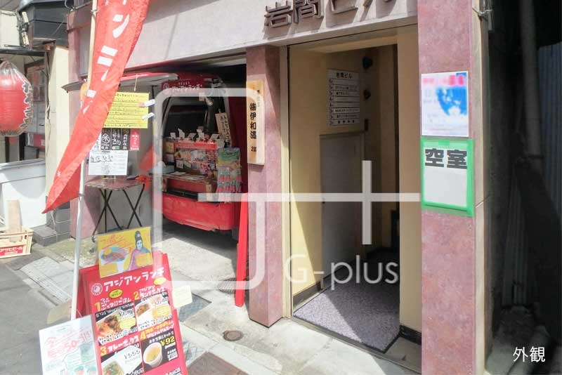 東銀座駅徒歩1分の1階店舗のイメージ