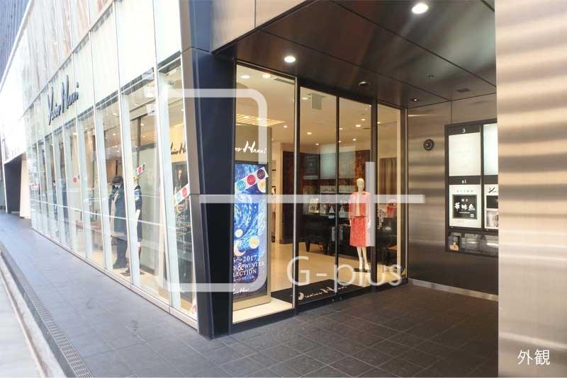 晴海通り沿いの1階路面店舗のイメージ