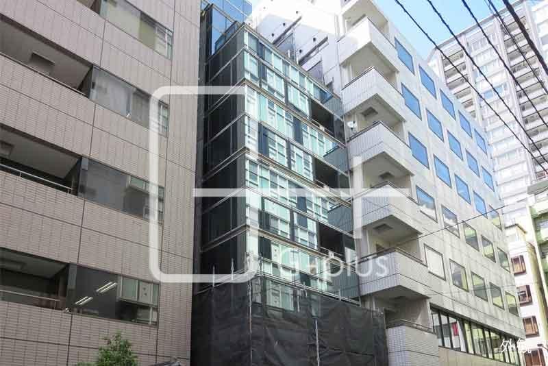 銀座2丁目リニューアル事務所 地下1階+1階のイメージ