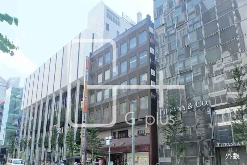 銀座中央通りの貸店舗事務所 2階のイメージ