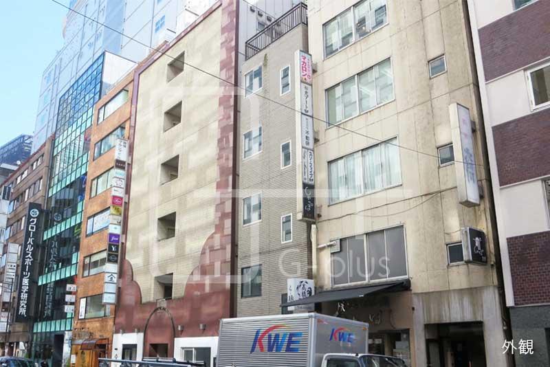GINZA SIX裏手の貸店舗事務所 3階のイメージ