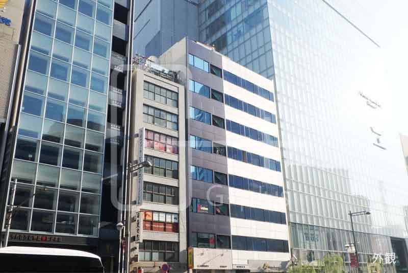 銀座2丁目外堀通りの店舗事務所 8階のイメージ