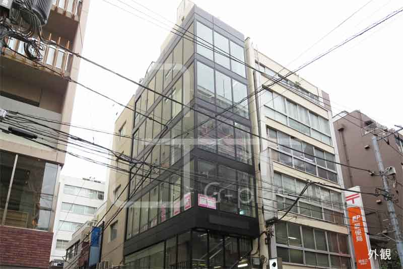 銀座郵便局隣のガラス張りビル 3階のイメージ