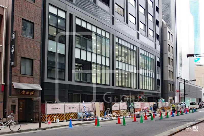 銀座三原通りの新築ビル 1階のイメージ