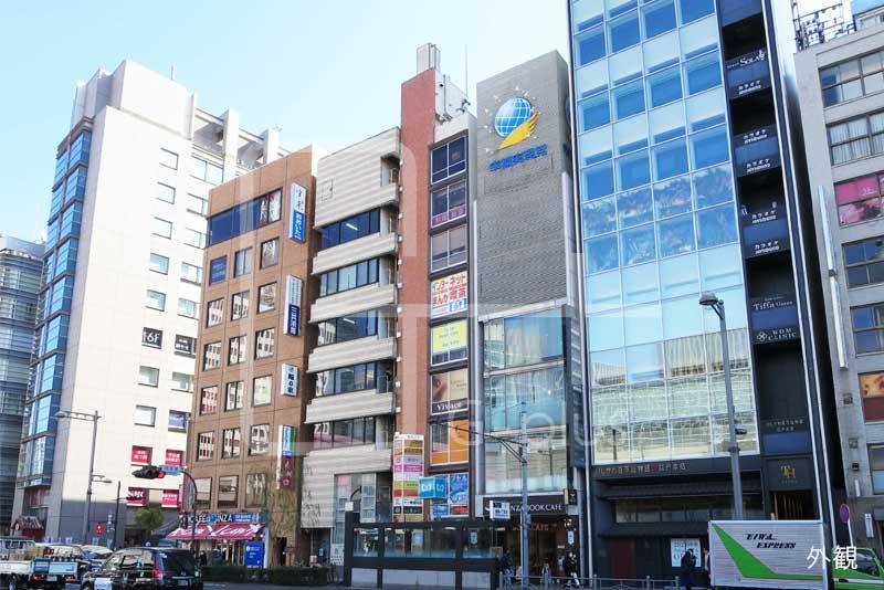 銀座2丁目外堀通りの店舗事務所 9階のイメージ