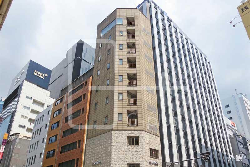 銀座7丁目花椿通り角地の貸店舗 4階のイメージ