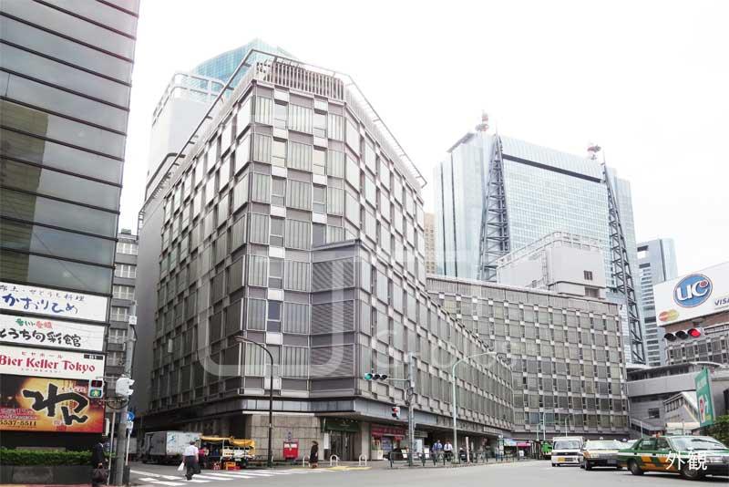 新橋駅直結の貸事務所 403号室のイメージ