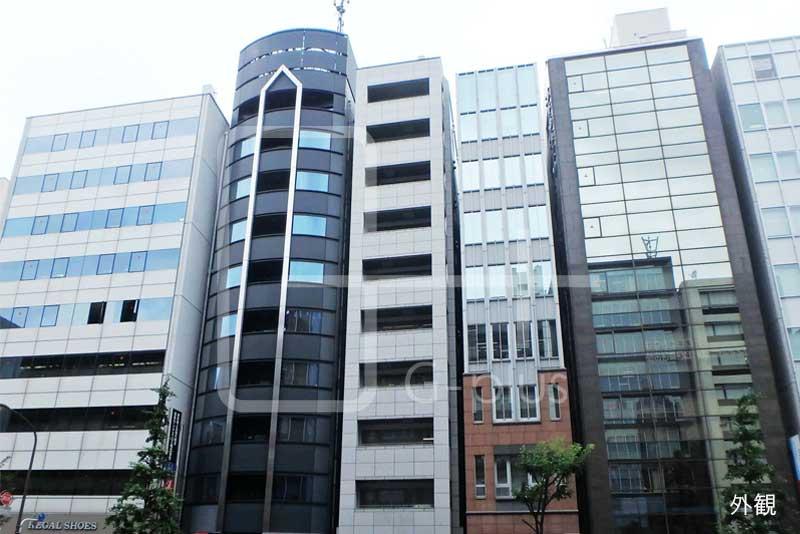 日比谷通り沿い石造りの外観ビル 7階のイメージ