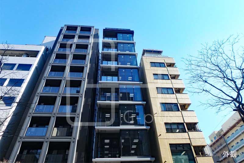 新橋赤レンガ通りの新築ビル 6階のイメージ
