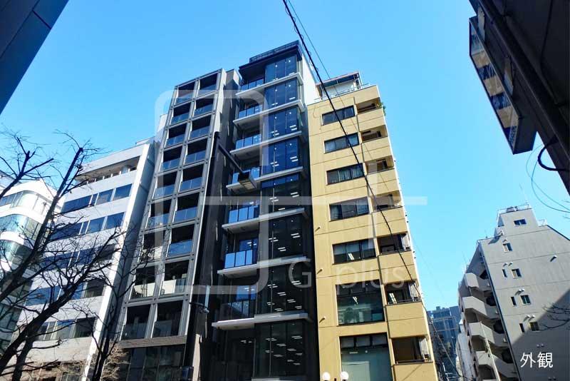 新橋赤レンガ通りの新築ビル 7階のイメージ