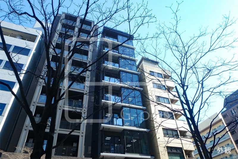 新橋赤レンガ通りの新築ビル 8階のイメージ