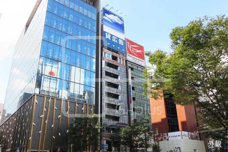 晴海通りの好立地店舗事務所 6階のイメージ