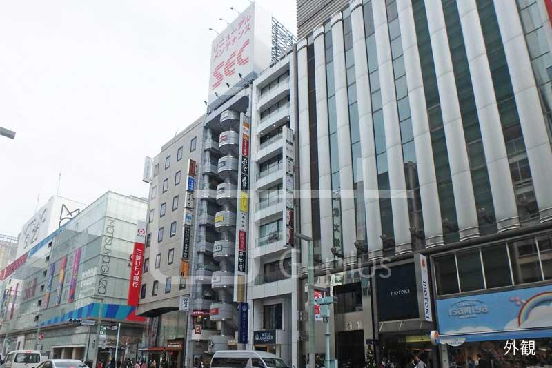 銀座三越隣接の貸店舗事務所 8階のイメージ