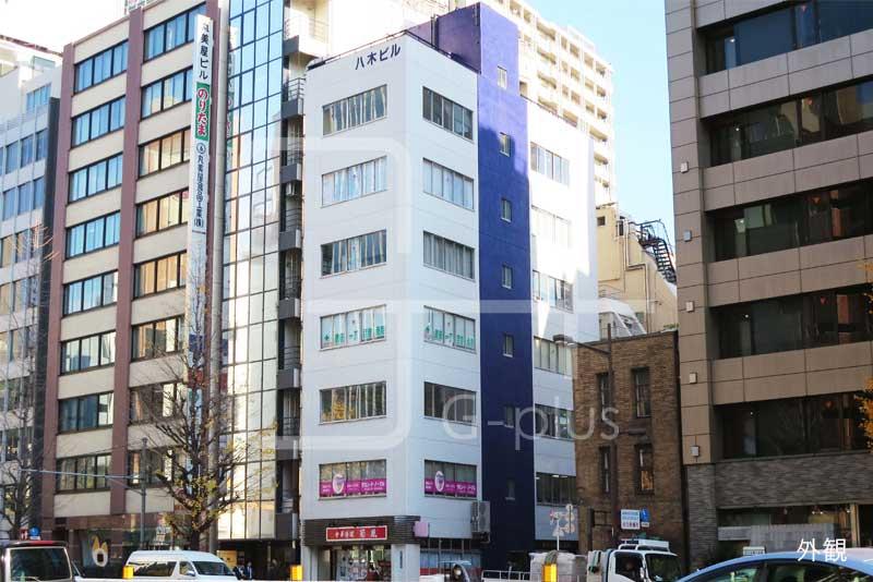 銀座1丁目昭和通りの角ビル 2階のイメージ