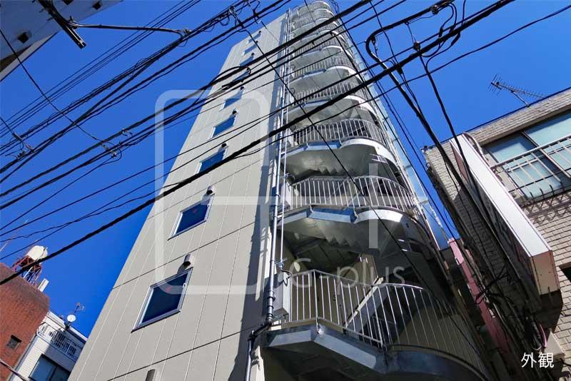 新橋4丁目新築スケルトン貸店舗 9階のイメージ