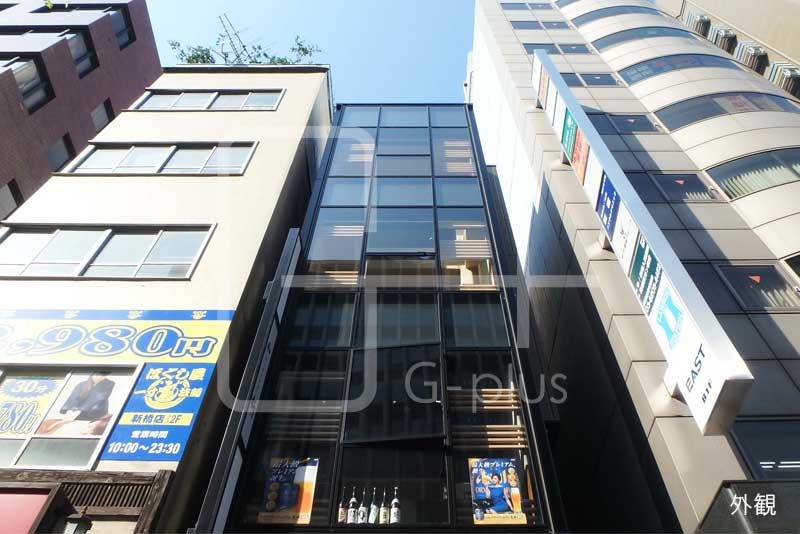 新橋1丁目外堀通りの貸店舗 2階のイメージ