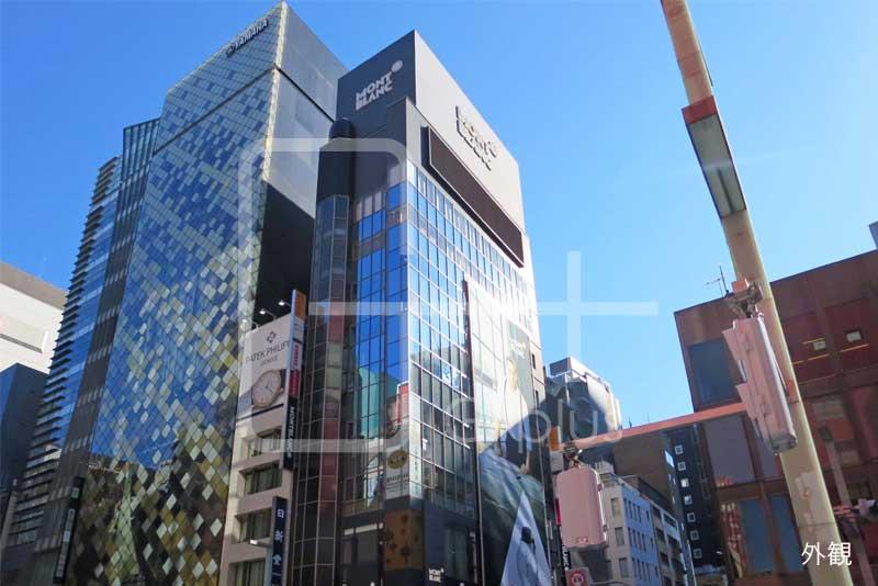 銀座7丁目中央通り角地のビル 10階のイメージ