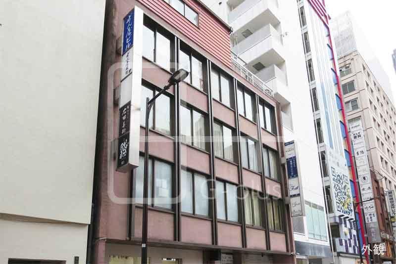 銀座7丁目数寄屋通りのレトロビル 2階のイメージ