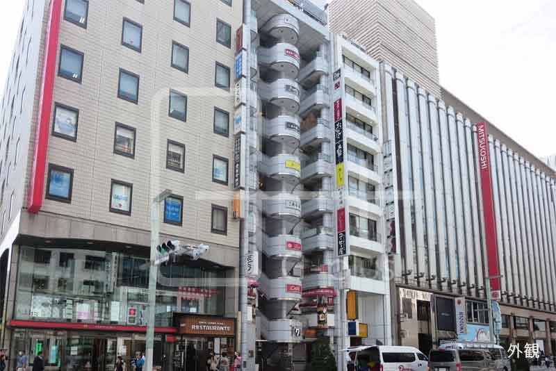 銀座4丁目中央通りの貸店舗 6階のイメージ