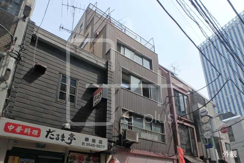 東銀座駅徒歩1分の店舗事務所 3階のイメージ