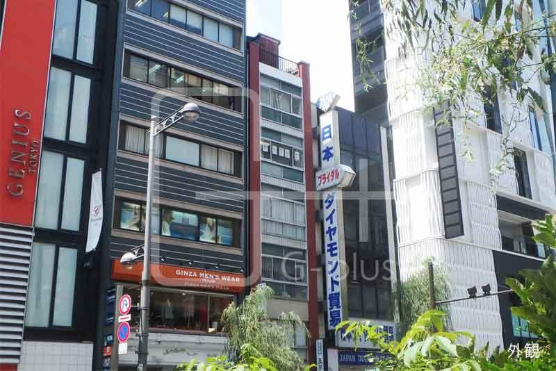 銀座6丁目外堀通りの貸店舗事務所 5階のイメージ