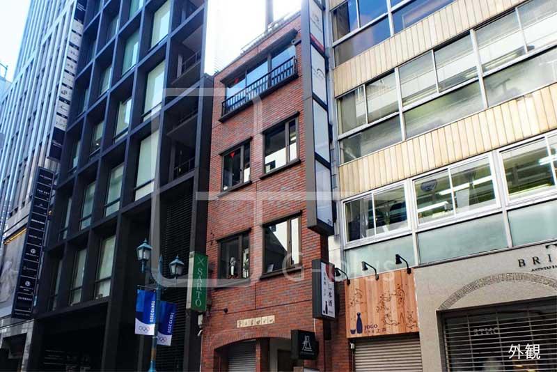 銀座ガス灯通りアパレル店居抜き 3階のイメージ
