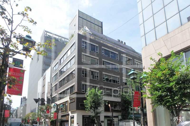 並木通り×交詢社通り角地事務所 4階のイメージ