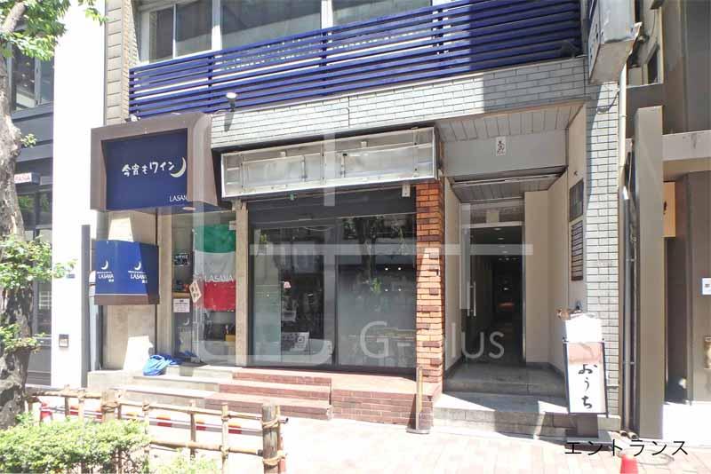 交詢社通りの1階寿司店居抜きのイメージ