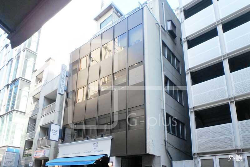 銀座2丁目20坪の1階路面店舗のイメージ