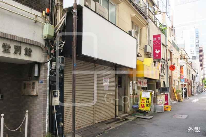 新橋2丁目1階+2階の貸店舗のイメージ