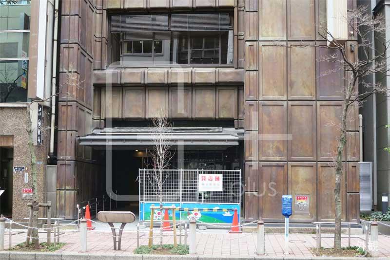 新橋2丁目赤レンガ通り1階店舗のイメージ