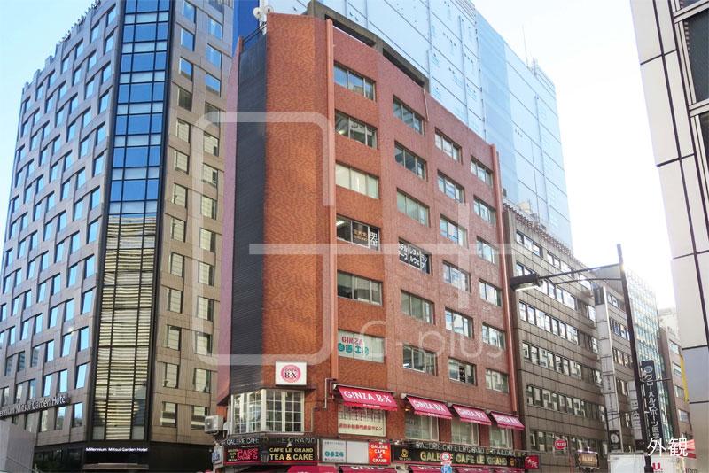 三原通り×晴海通りの店舗事務所 6階のイメージ