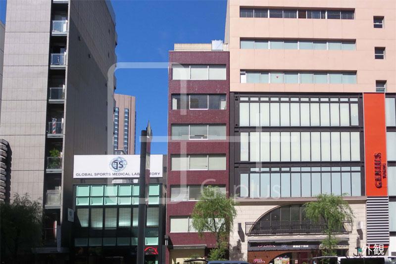 銀座6丁目外堀通りの1階路面店のイメージ