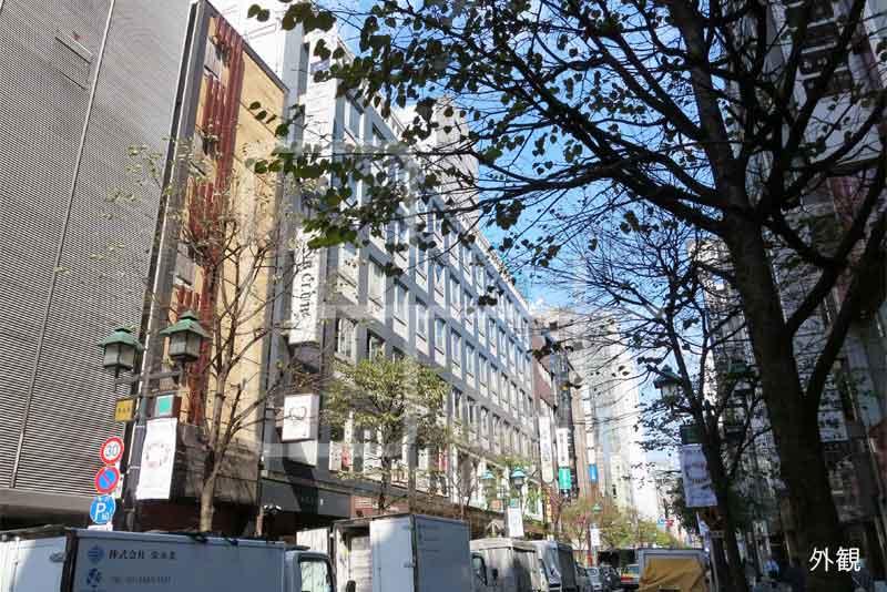 銀座8丁目並木通りの貸オフィス 5階のイメージ