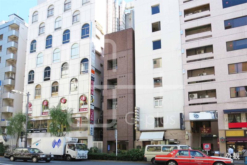 銀座外堀通りの貸店舗・事務所 2階のイメージ