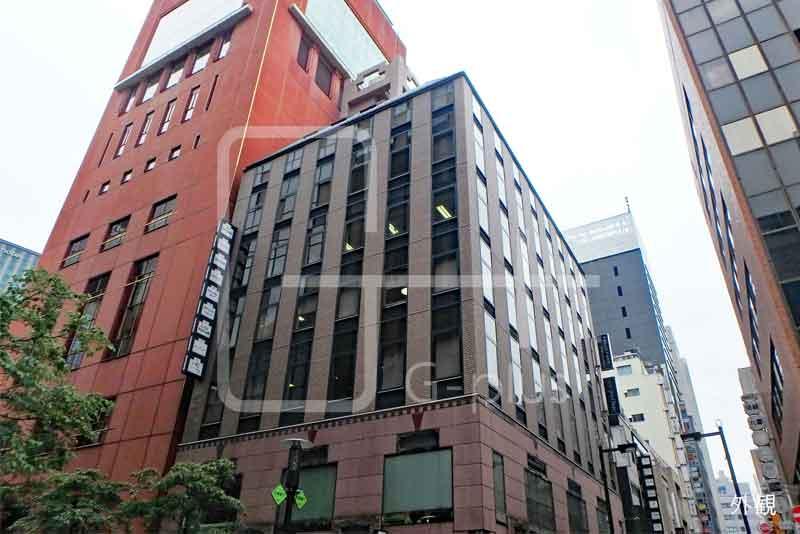 花椿通り×金春通りの1階路面店のイメージ