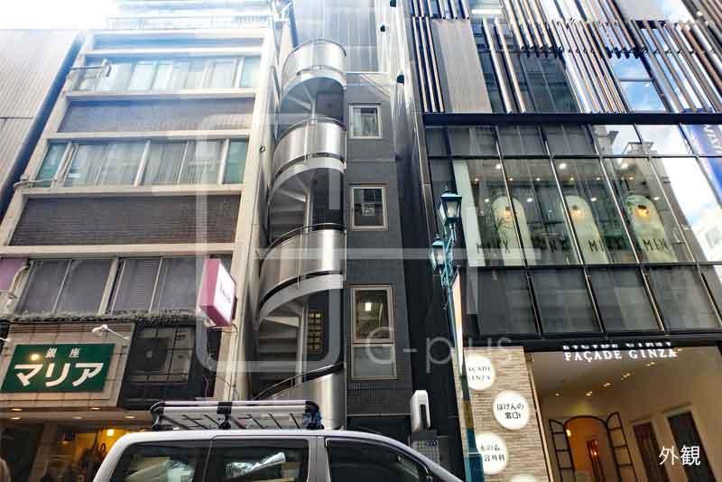 銀座2丁目ガス灯通りコンパクトビル 3階のイメージ