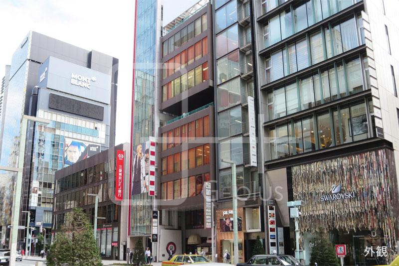 銀座8丁目中央通りの飲食店舗 B1階+B2階のイメージ