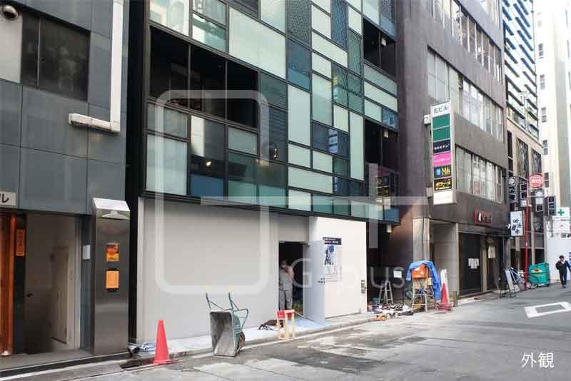 銀座7丁目ソニー通りの新築店舗 1階のイメージ