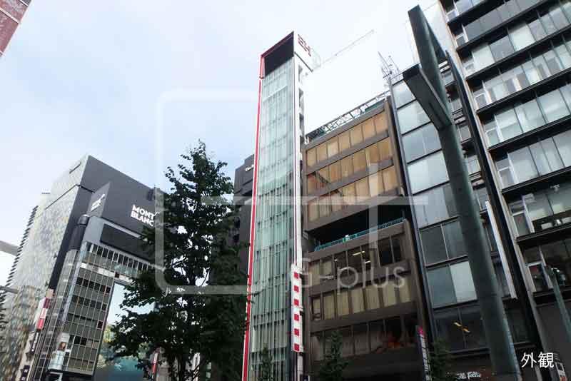 銀座8丁目中央通りのキレイなビル 4階のイメージ