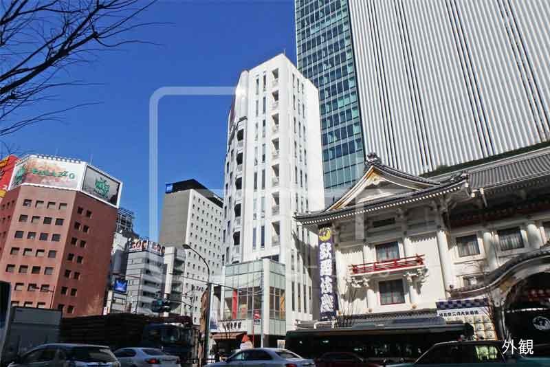銀座4丁目歌舞伎座隣の店舗事務所 7階のイメージ