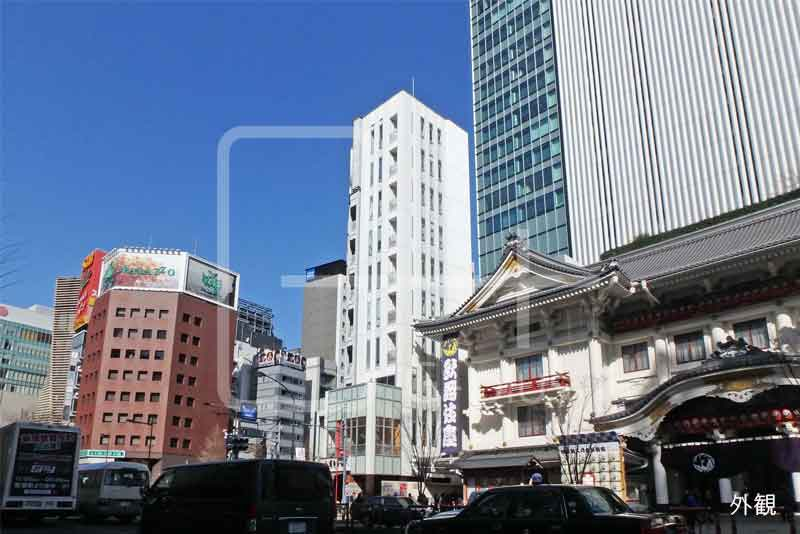 銀座4丁目歌舞伎座隣の店舗事務所 10階のイメージ