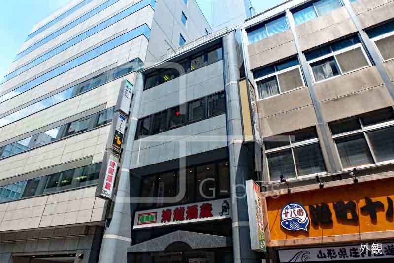 新橋仲通り沿いの貸店舗 1階+2階のイメージ