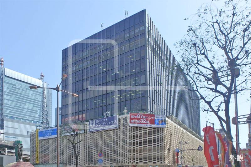 新橋駅前のコンパクトな1階店舗のイメージ