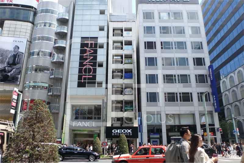 銀座5丁目中央通り貸店舗事務所 4階のイメージ