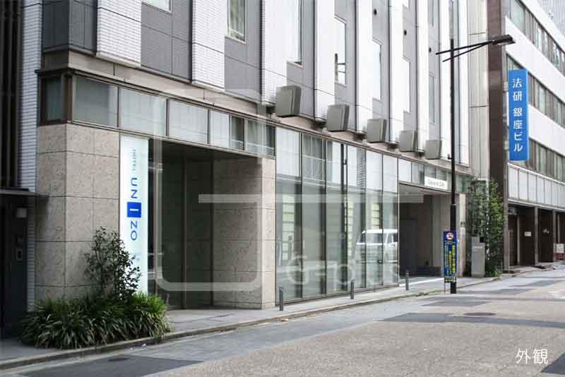 銀座1丁目ホテルの1階路面店舗のイメージ