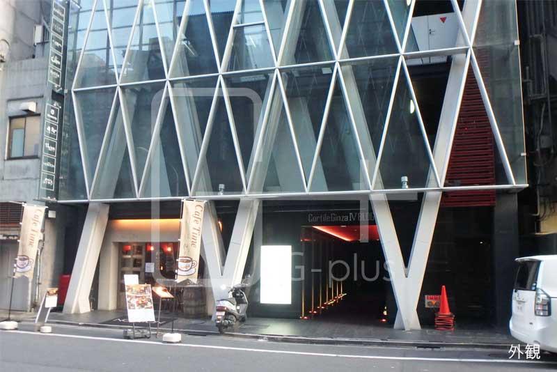 銀座8丁目ソニー通りの1階店舗のイメージ