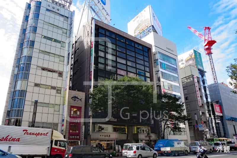銀座5丁目晴海通りの貸店舗 2階のイメージ
