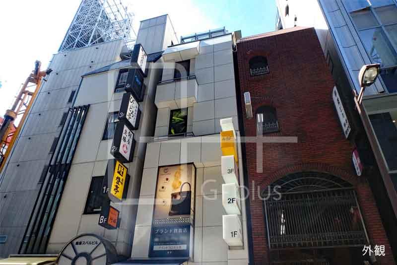 銀座レンガ通りの貸店舗 4階+5階のイメージ